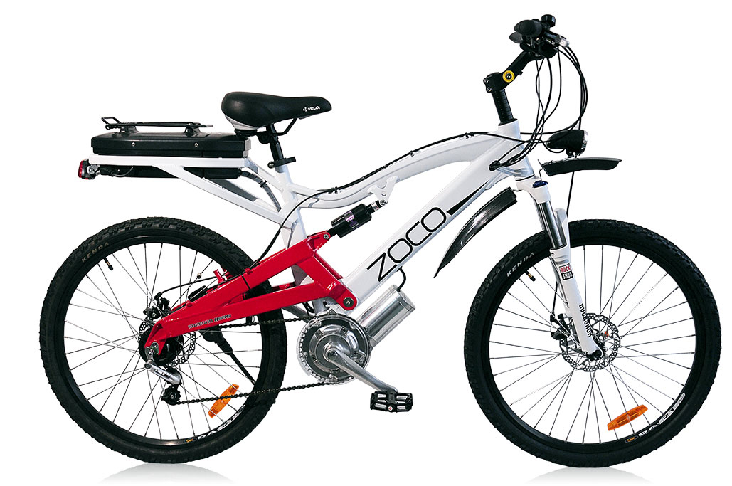 ZOCO XTREME II 250W / 500W ELECTRIC BIKE NuVinci Optimised