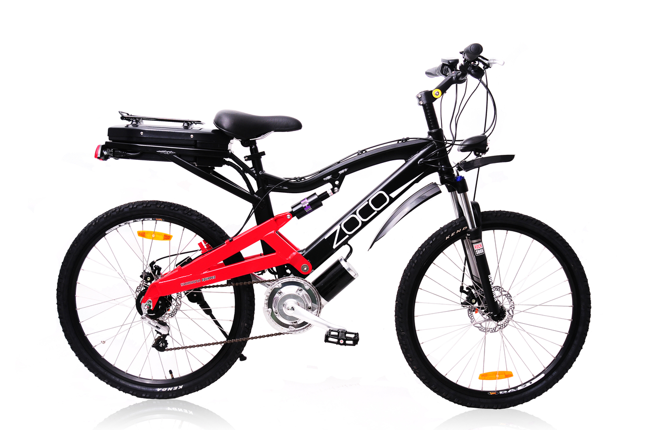 Zoco Xtreme 500w Electric Mountain Bike Model