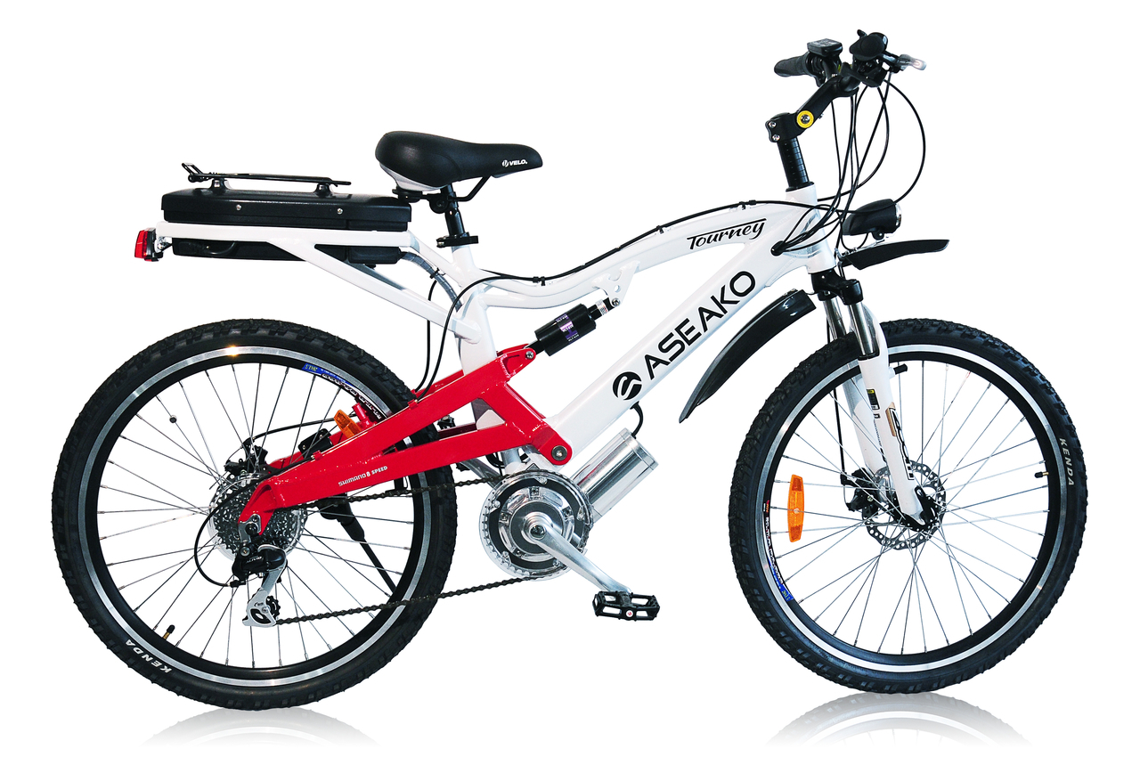 Aseako 250w Tourney Electric Bike For Ladies
