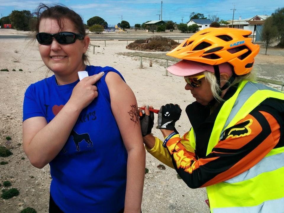 CF Survivor Meets Hero On Big Aussie Cycling Trip