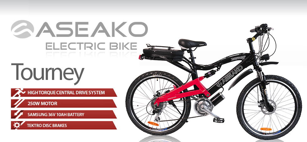 aseako 250w tourney electric bike