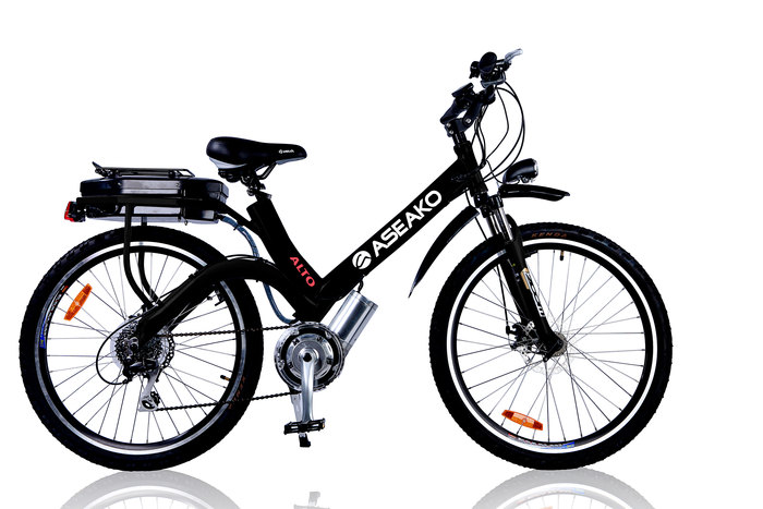 ASEAKO 250W AVENTI II ELECTRIC BIKE NuVinci Optimised